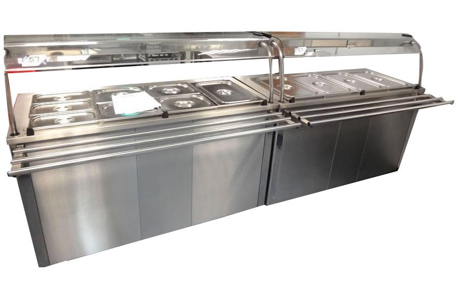 Bain Marie Counter Sm Canteen Equipments Pvt Ltd